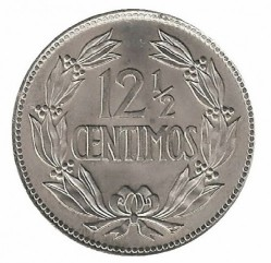 Moneta > 12½sentimo, 1969 - Venesuela  - obverse