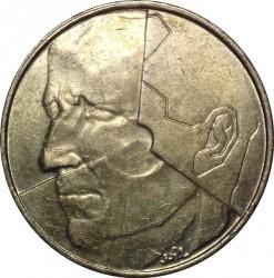 Munt > 5francs, 1986-1993 - Belgie  (Legend in Dutch - 'BELGIE') - obverse