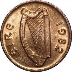 سکه > ½پنی, 1971-1986 - ایرلند  - obverse