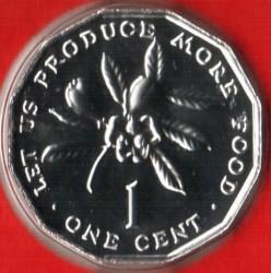 Münze > 1Cent, 1976-1984 - Jamaika  - reverse