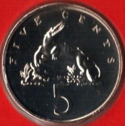 Pièce > 5cents, 1971-1984 - Jamaïque  - reverse