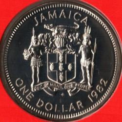 Münze > 1Dollar, 1980-1982 - Jamaika  - obverse