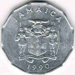 Pièce > 1cent, 1975-2002 - Jamaïque  - obverse