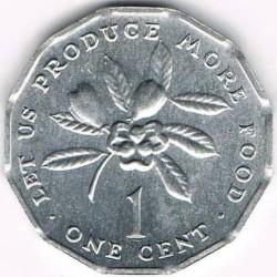 Pièce > 1cent, 1975-2002 - Jamaïque  - reverse
