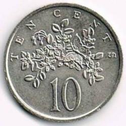 Münze > 10Cent, 1969-1989 - Jamaika  - reverse