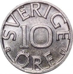 Mynt > 10ore, 1977 - Sverige  - obverse