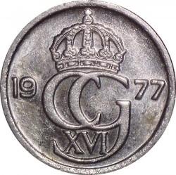 Mynt > 10ore, 1977 - Sverige  - reverse