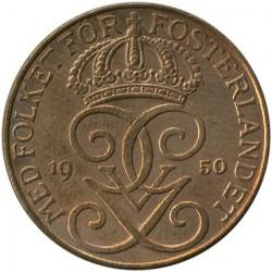 Moeda > 5ore, 1910-1950 - Suécia  - obverse