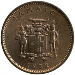 Coin > 1cent, 1971-1974 - Jamaica  (FAO - Let us produce more food) - reverse