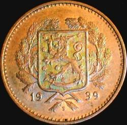 Münze > 10Mark, 1939 - Finnland  - obverse