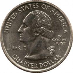 Coin > ¼dollar, 2006 - USA  (Nebraska State Quarter) - obverse