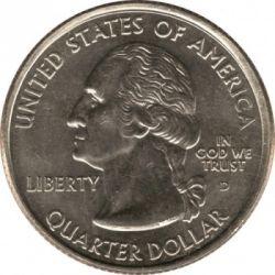 Moneda > ¼dollar, 2007 - Estats Units  (Quarter del Estat de Utah) - obverse