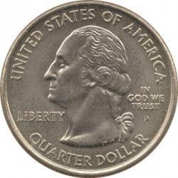 Кованица > ¼долара, 2008 - Сједињене Америчке Државе  (Alaska State Quarter) - obverse