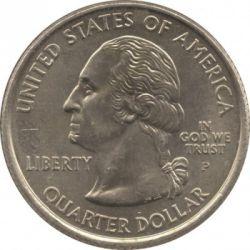 Кованица > ¼долара, 2008 - Сједињене Америчке Државе  (Hawaii State Quarter) - obverse