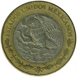 Coin > 10pesos, 1997 - Mexico  - obverse