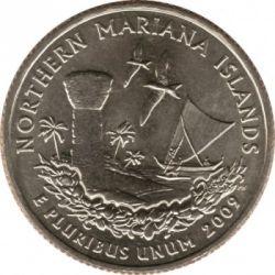 Moneda > ¼dollar, 2009 - Estats Units  (Quarter de les Illes Marianes del Nord) - reverse