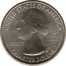 Moneda > ¼dólar, 2013 - Estados Unidos  (Cuarto del Parque Nacional de Great Basin) - obverse