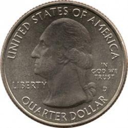 Moneda > ¼dólar, 2013 - Estados Unidos  (Cuarto de dólar de La Victoria de Perry y del Memorial Internacional de la Paz) - obverse