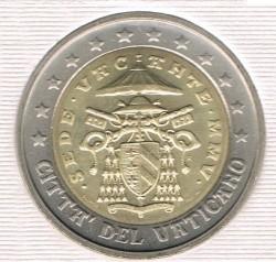 Minca > 2euro, 2005 - Vatikán  (Sede Vacante) - obverse