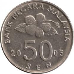 Moneda > 50sen, 1989-2011 - Malàisia  - obverse