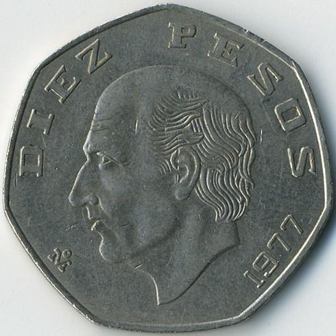 diez pesos coin worth
