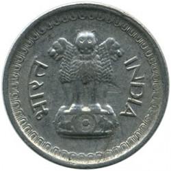 Mynt > 25nyepaise, 1961-1963 - India  - obverse