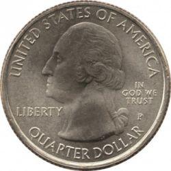 Moneda > ¼dólar, 2013 - Estados Unidos  (Cuarto de dólar del Monumento Nacional Fort McHenry) - obverse