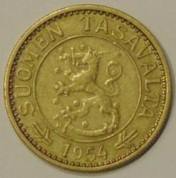 Münze > 10Mark, 1954 - Finnland  - obverse
