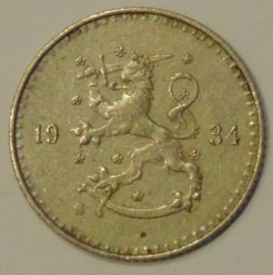 Münze > 25Penny, 1934 - Finnland  - reverse