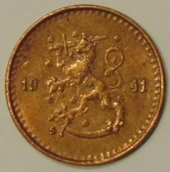 Münze > 25Penny, 1941 - Finnland  - obverse