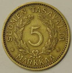 Münze > 5Mark, 1930 - Finnland  - reverse
