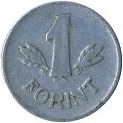 Монета > 1форинт, 1957-1966 - Венгрия  - obverse