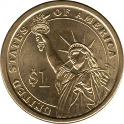 Coin > 1 dollar, 2013 - USA  (President of the USA - William McKinley (1897–1901)) - reverse