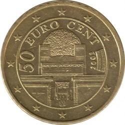Монета > 50евроцентов, 2002-2007 - Австрия  - obverse