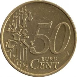 Монета > 50евроцента, 2002-2007 - Австрия  - reverse