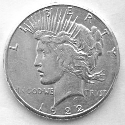 Moneta > 1 dollaro, 1921-1935 - USA  (Peace Dollar) - obverse