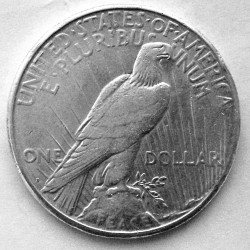 Moneta > 1 dollaro, 1921-1935 - USA  (Peace Dollar) - reverse