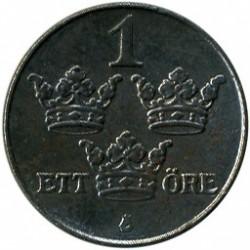 錢幣 > 1歐爾, 1942-1950 - 瑞典  - reverse