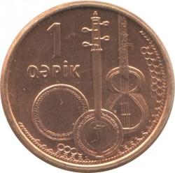 Moneda > 1qəpik, 2006 - Azerbaiyán  - reverse