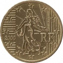 Монета > 50центів, 1999-2006 - Франція  - obverse