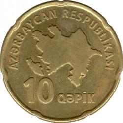 Moneda > 10qəpik, 2006 - Azerbaiyán  - obverse
