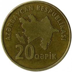Νόμισμα > 20Καπίκια, 2006 - Αζερμπαιτζάν  - obverse
