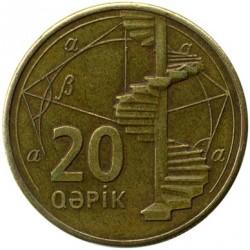 Νόμισμα > 20Καπίκια, 2006 - Αζερμπαιτζάν  - reverse