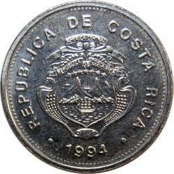 Moneda > 1colón, 1982-1994 - Costa Rica  - obverse