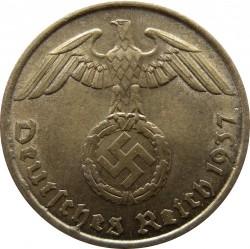5 Reichspfennig 1937 Deutschland Drittes Reich Münzen Wert