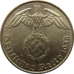 Coin > 5reichspfennig, 1936-1939 - Germany - Third Reich  - obverse