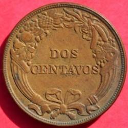 Moneta > 2centavos, 1919 - Peru  - reverse