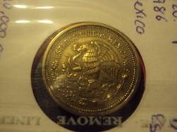 Coin > 20pesos, 1986 - Mexico  - obverse