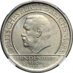 Moneda > 5reichsmark, 1929 - Alemania  (10.° Aniversario de la Constitución de Weimar) - obverse