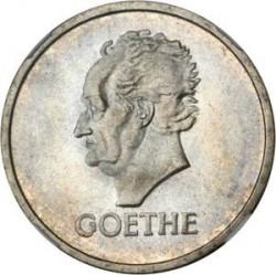 Moneda > 5reichsmark, 1932 - Alemania  (100 aniversario de la muerte de Goethe) - reverse